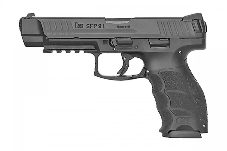 The Heckler & Koch SFP9 L pistol