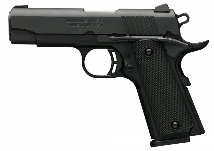 The Browning Black Label 1911-380 Compact pistol