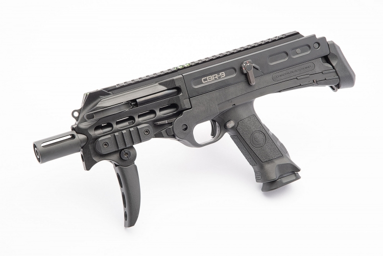 The new Chiappa Firearms CBR-9 Black Rhino 9mm pistol