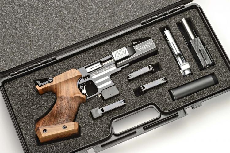 Pardini All in One: una pistola Pardini HP con la relativa conversione per il tiro rapido