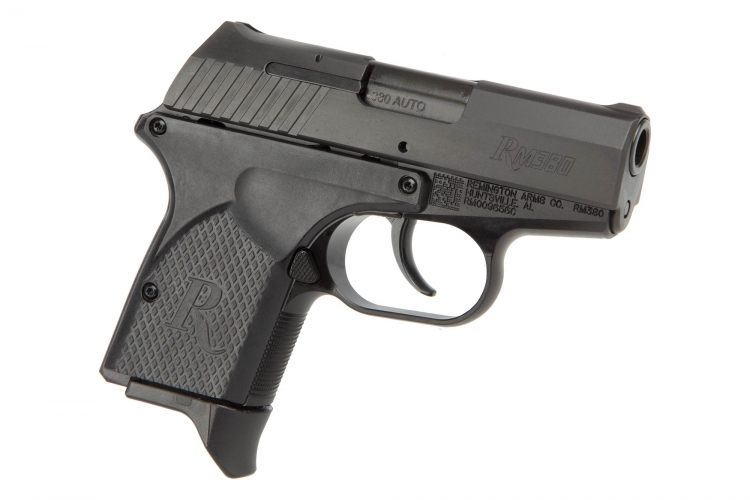 Remington RM380 pistol is a pocket size handgun in .380 Auto caliber