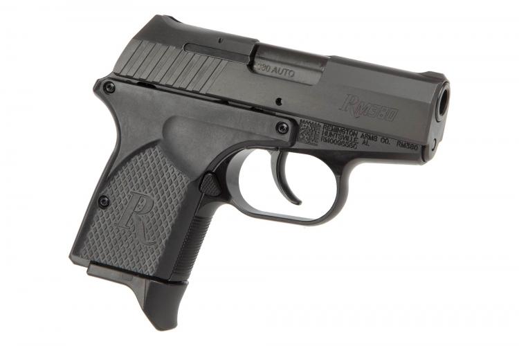 Remington RM380 pistol is a pocket size handgun in .380 Auto caliber