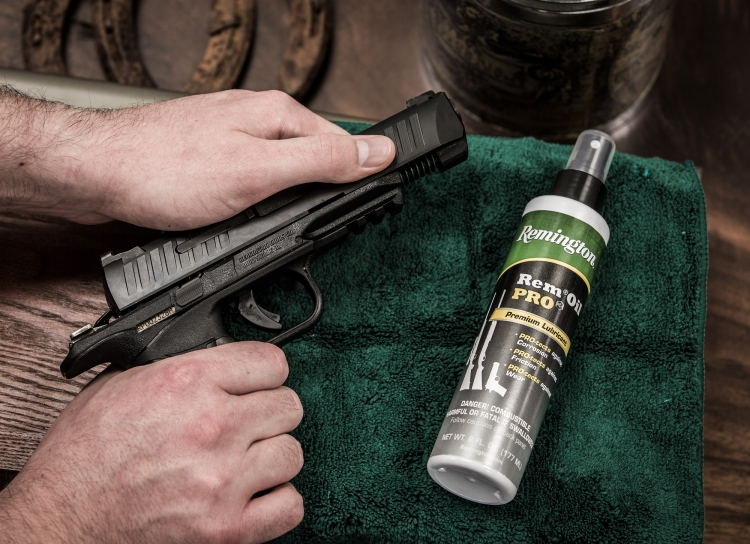 The Remington RP9 is easily stripped for cleaning and maintenance