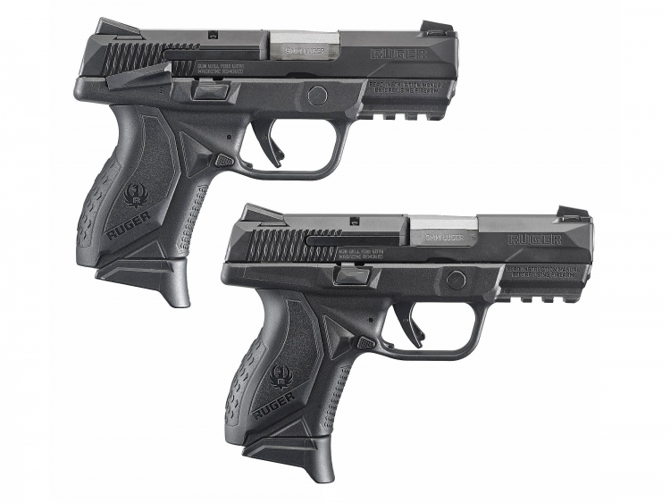 The Ruger American Pistol Compact model is available either with or without a manual safety