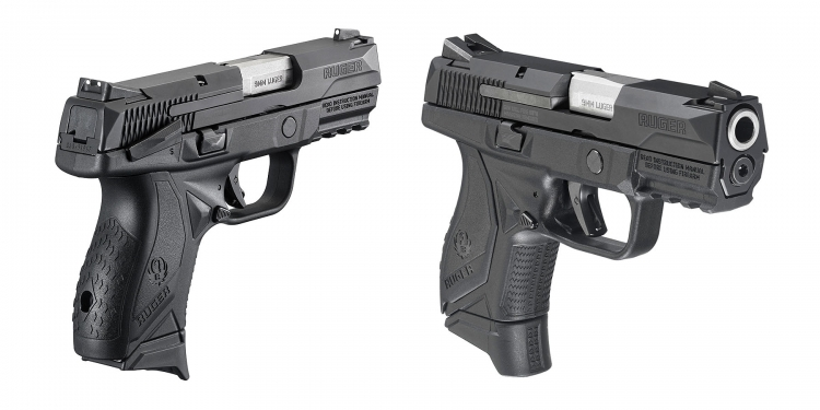 The Ruger American Pistol Compact offers the same look, feel, and design of its full-size counterpart