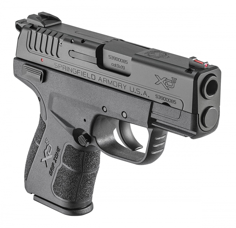 The Springfield Armory XD-E pistol sculpts unmatched point-and-shoot ergonomics into a sleek frame