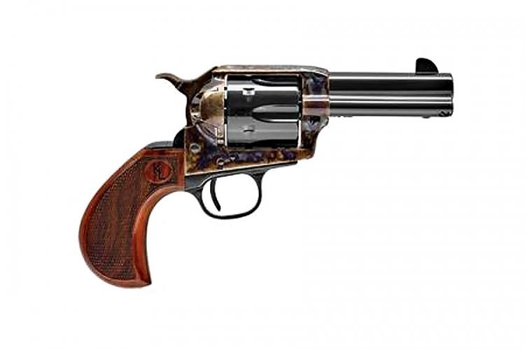 Uberti 1873 Short Stroke revolver designed for Kenda Lenseigne