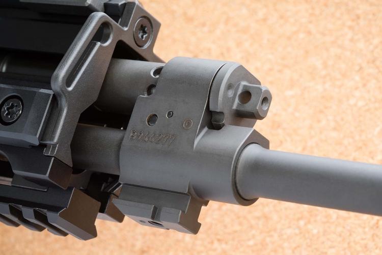 The gas regulator of the CZ 805 BREN S1