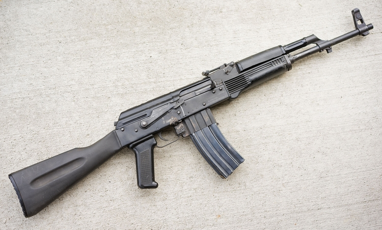 A prototype: the Joshua MK5 started out as a mere STANAG magazine conversion for .223 caliber AKs