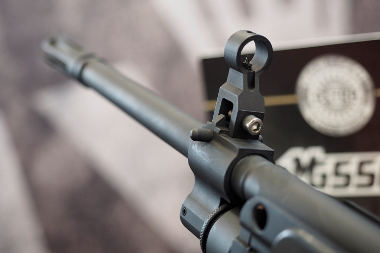 "The MG556 features a 18.3"" cold-hammer forged, chrome-lined barrel"