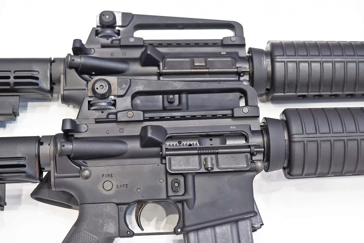 The M4 Commando semi-automatic carbines are entirely MIL-SPEC, and built to last