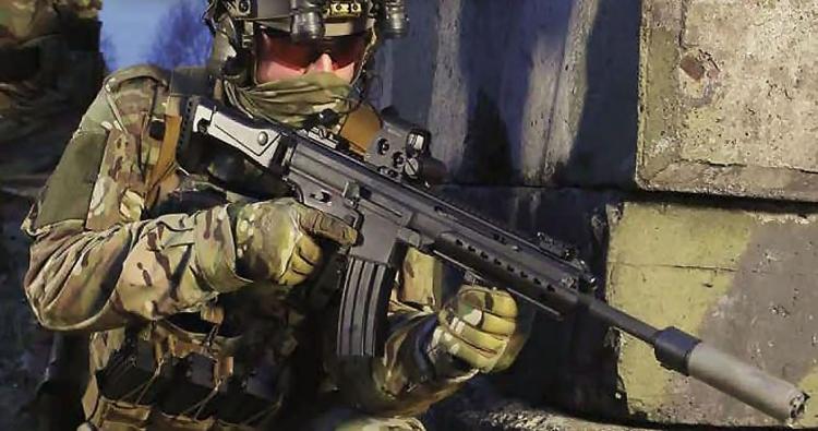 Il fucile d'assalto Heckler & Hock HK433 è stato svelato dalla rivista tedesca 'Europäische Sicherheit & Technik'