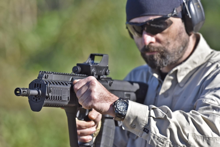 The choice was made as the new X95 met the favour of the American and international shooters communities better than the original Tavor SAR, thanks to the estensive improvements over the original design