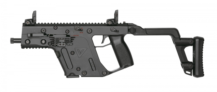 The KRISS Vector Gen.II line of firearms now includes handguns, carbines, SBRs and SMGs chambered in 10mm Auto