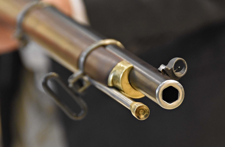 The very 'proprietary' hexagonal bore of the Withworth muzzle loading rifle in .451 caliber