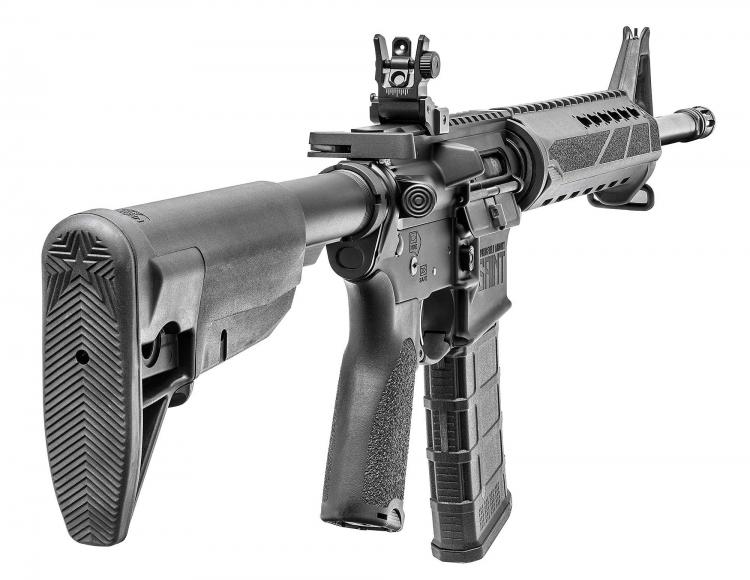 Le plastiche dello Springfield Armory SAINT sono prodotte dalla Bravo Company Manufacturing