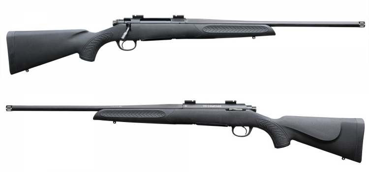 The T/C Arms Compass rifle is available in ten of the most popular hunting calibers