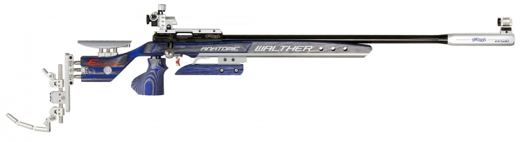 The Walther KK500 rifle is available in five different variants