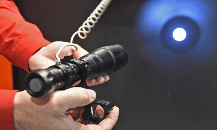 The ultra-focused, high definition beam of the Optical Dynamics CALS torch