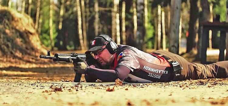 The Saiga KSZ-223 slide-action rifle will debut at the 2017 IPSC Rifle World Shoot in Moscow, in late May