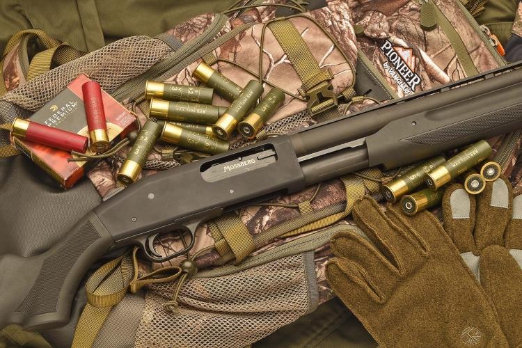 Il fucile a pompa Mossberg 535 ATS è camerato per le potenti cartucce in calibro 12/89