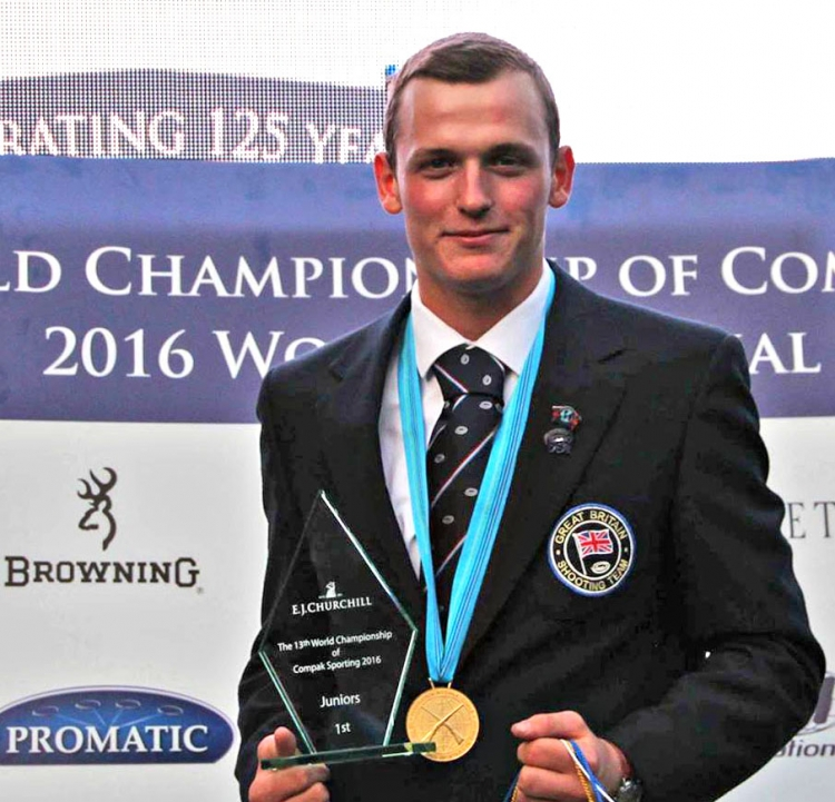 During the FITASC Compak Sporting World Championship which took place in Churchill (England) last week, the Browning Junior Shooter Josh Bridges shot brilliantly.