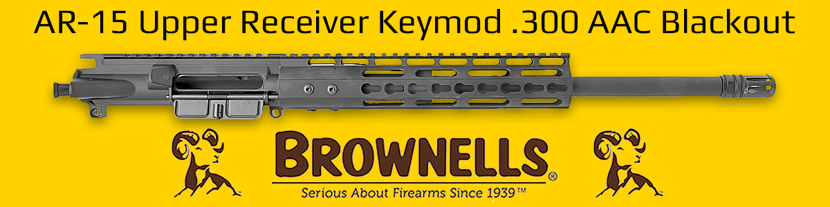 Brownells: AR15 Upper Receiver 300 AAC Blackout