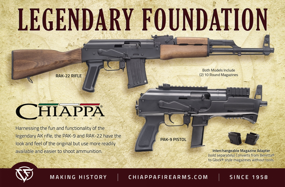 Chiappa RAK-9: the Italian AK pistol-caliber carbine