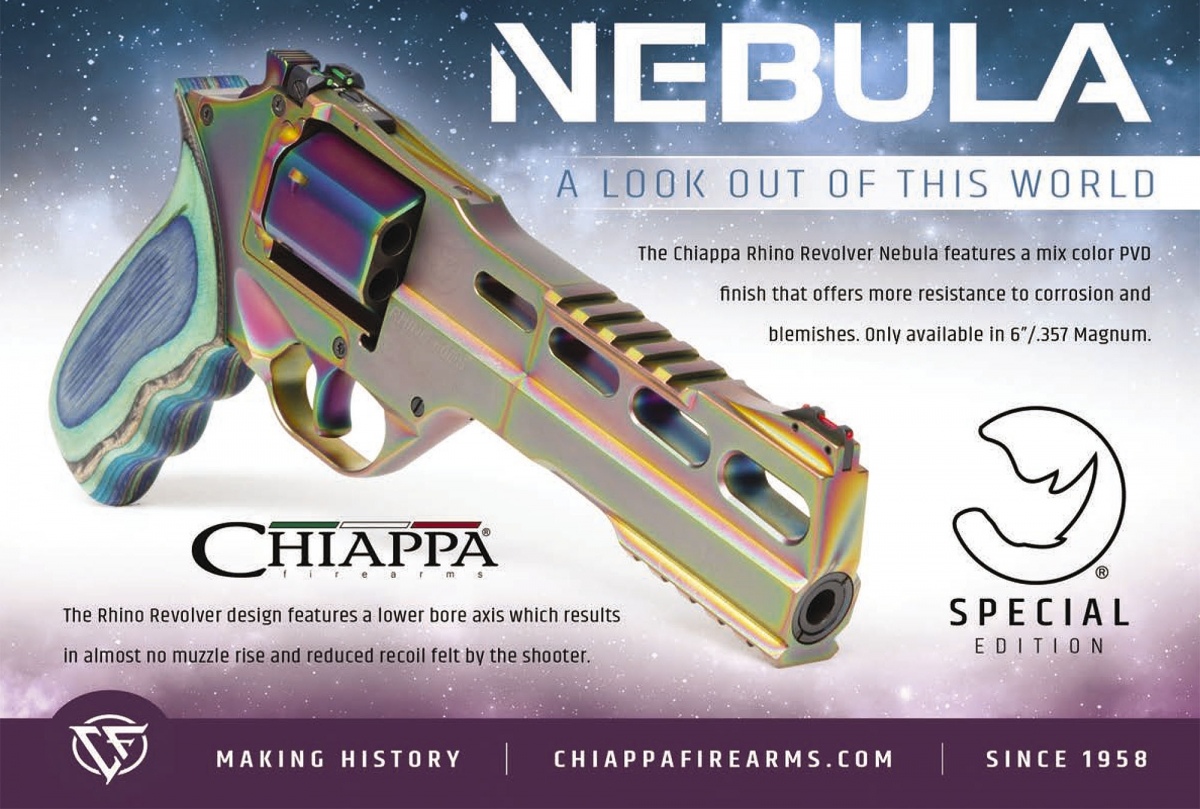 VIDEO: Chiappa Firearms Rhino Nebula revolver