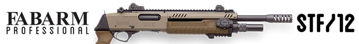 Fabarm STF/12 tactical shotguns