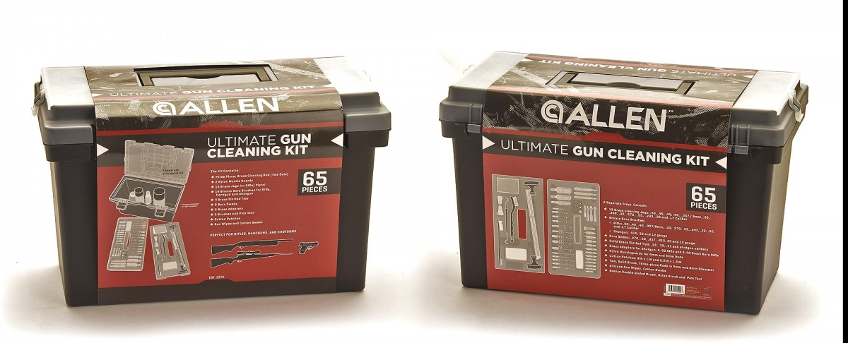 Allen Tool Box Cleaning Kit: the ultimate in gun care