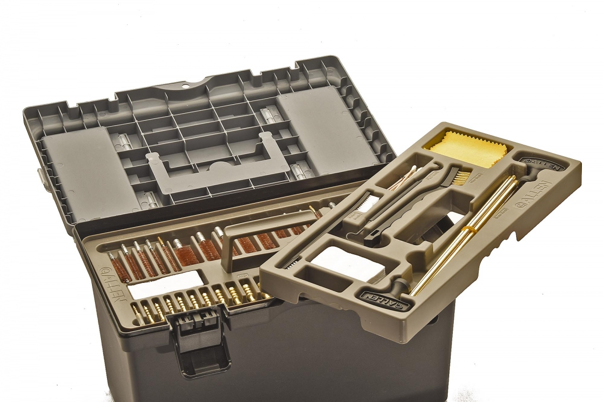 Allen Tool Box Cleaning Kit: everything you need to keep your guns running, always!