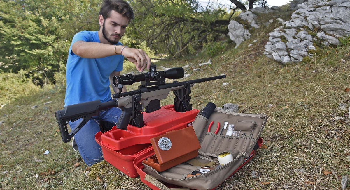 Never go in the field without the right equipment.