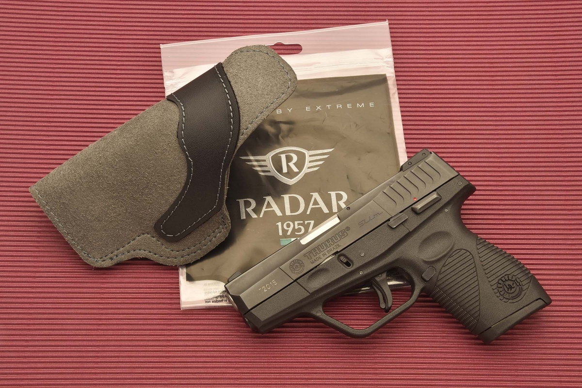 The Model 5074-0902 holster, manufactured in Italy by Radar 1957
