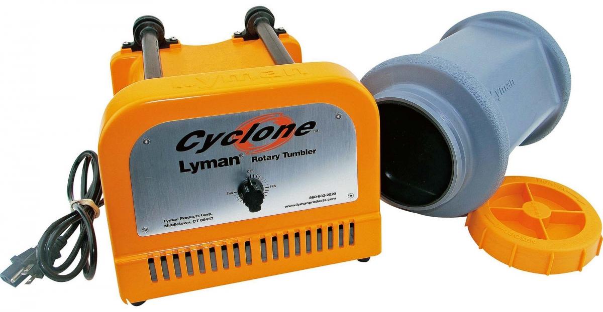 Le componenti principali del pulitore elettrico Lyman Cyclone