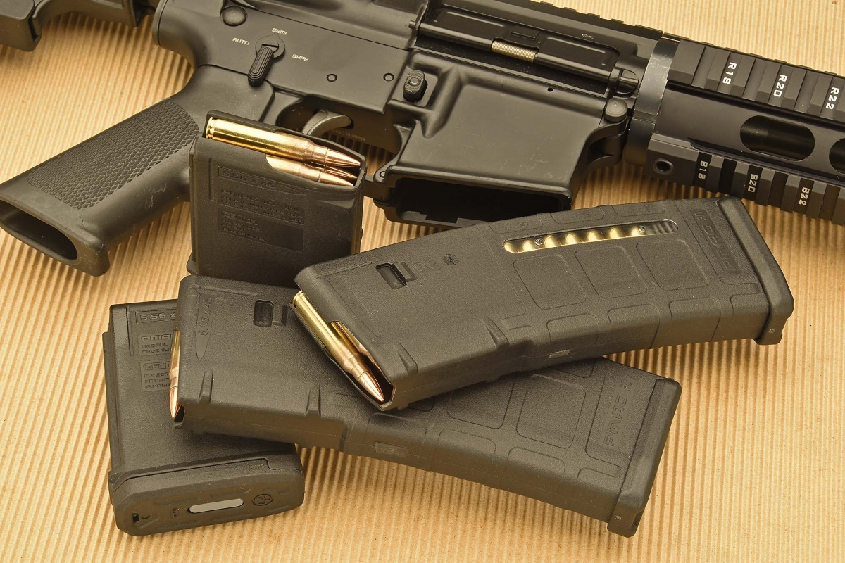 Polymer magazines are so versatile and reliable that... governments are trying to ban to civilians and sport shooters the use of the bigger ones (so, terrorists will be the only one enabled to use them, as many local administrations in various countries do not have the money to acquire them)