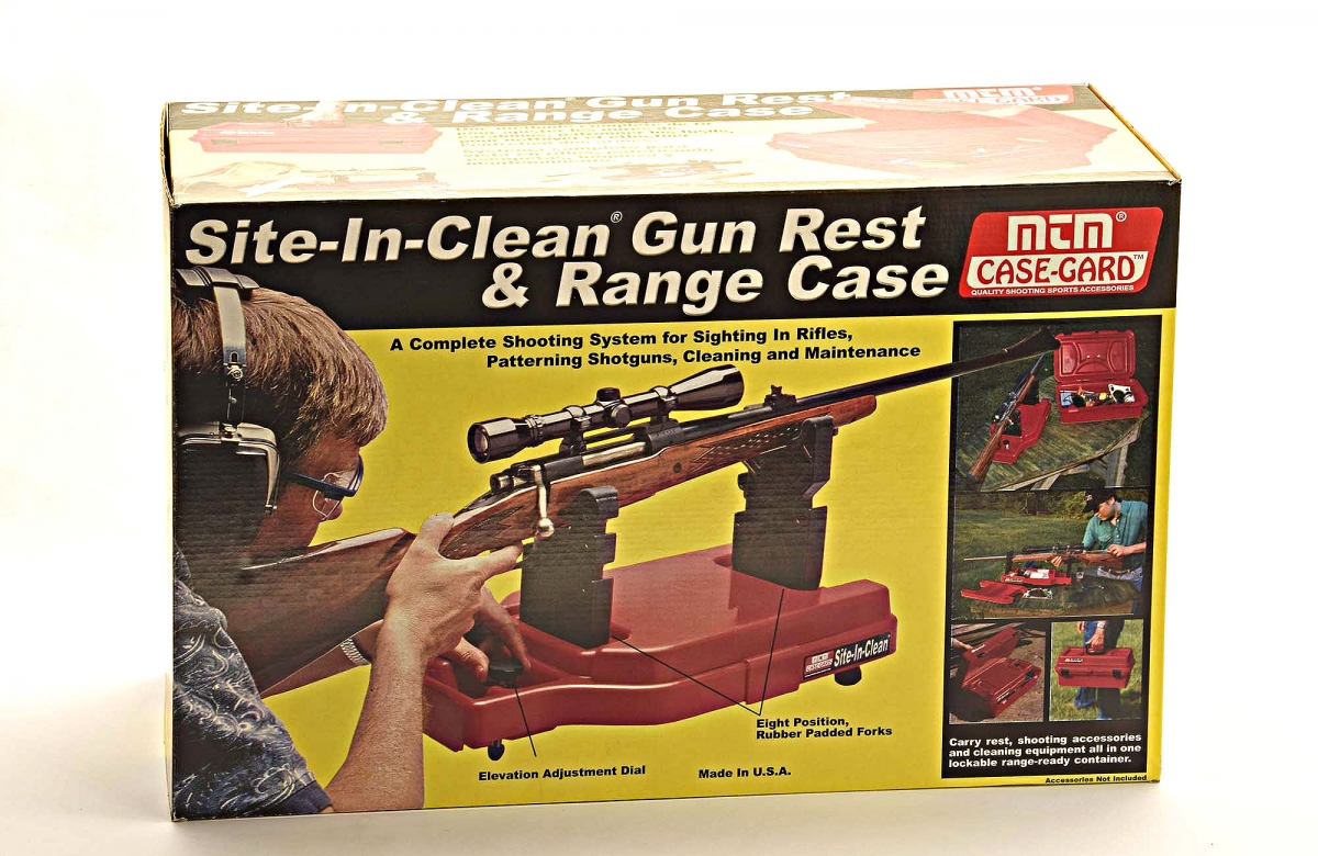 MTM Site-In-Clean Shooting Rest & Case
