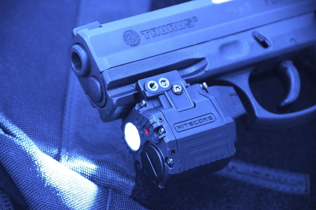 Nitecore NPL10 Tactical Pistol flashlight