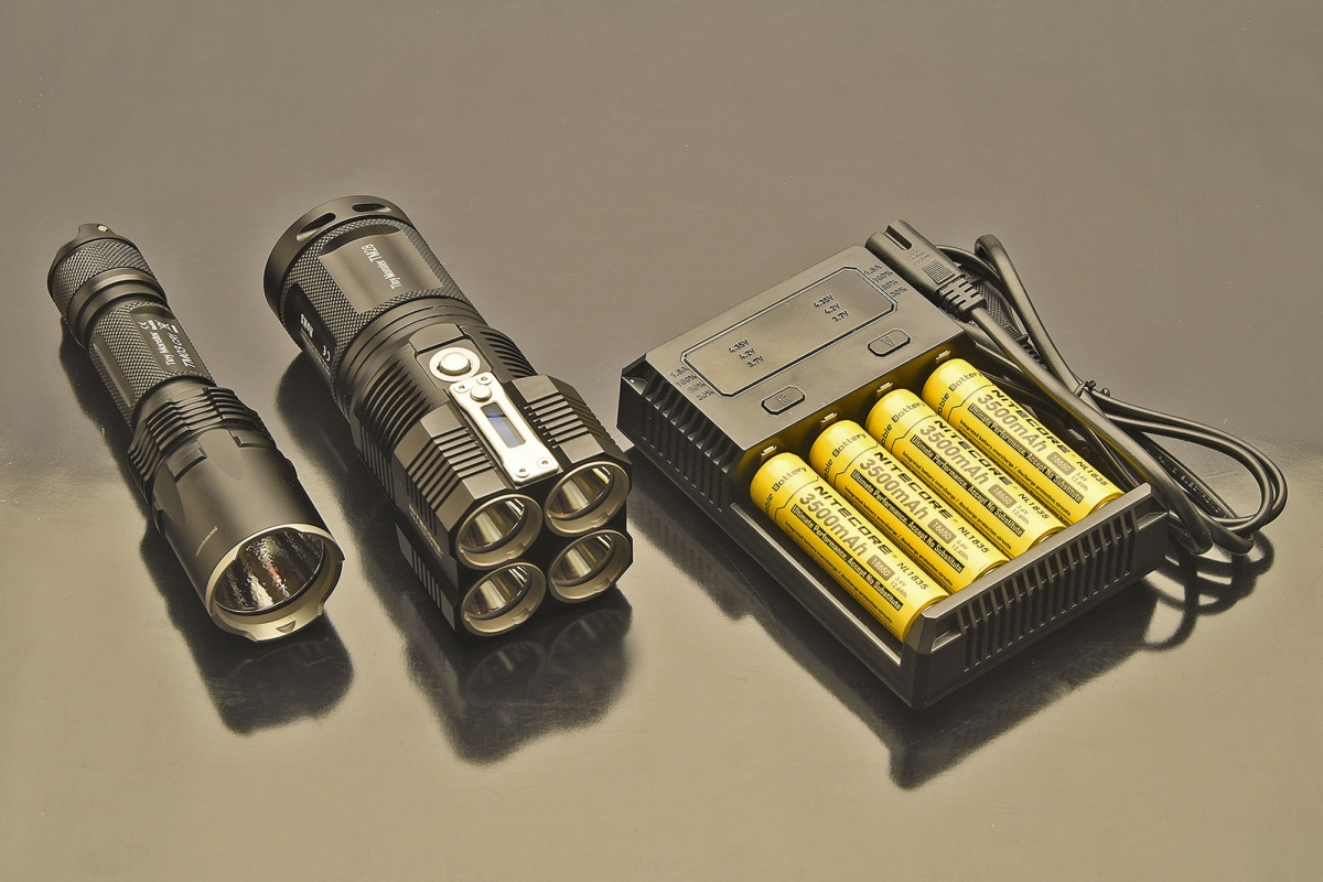 The Nitecore New i4 fast charger is the perfect companion for any high power flashlight