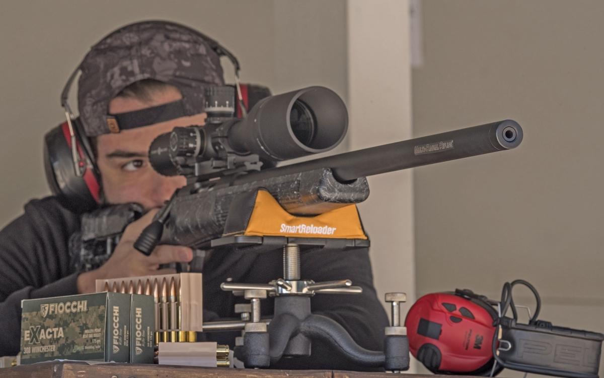Smartreloader SR300 Light Rest: lo abbiamo provato anche con la nuovissima carabina Sabatti Tactical EVO