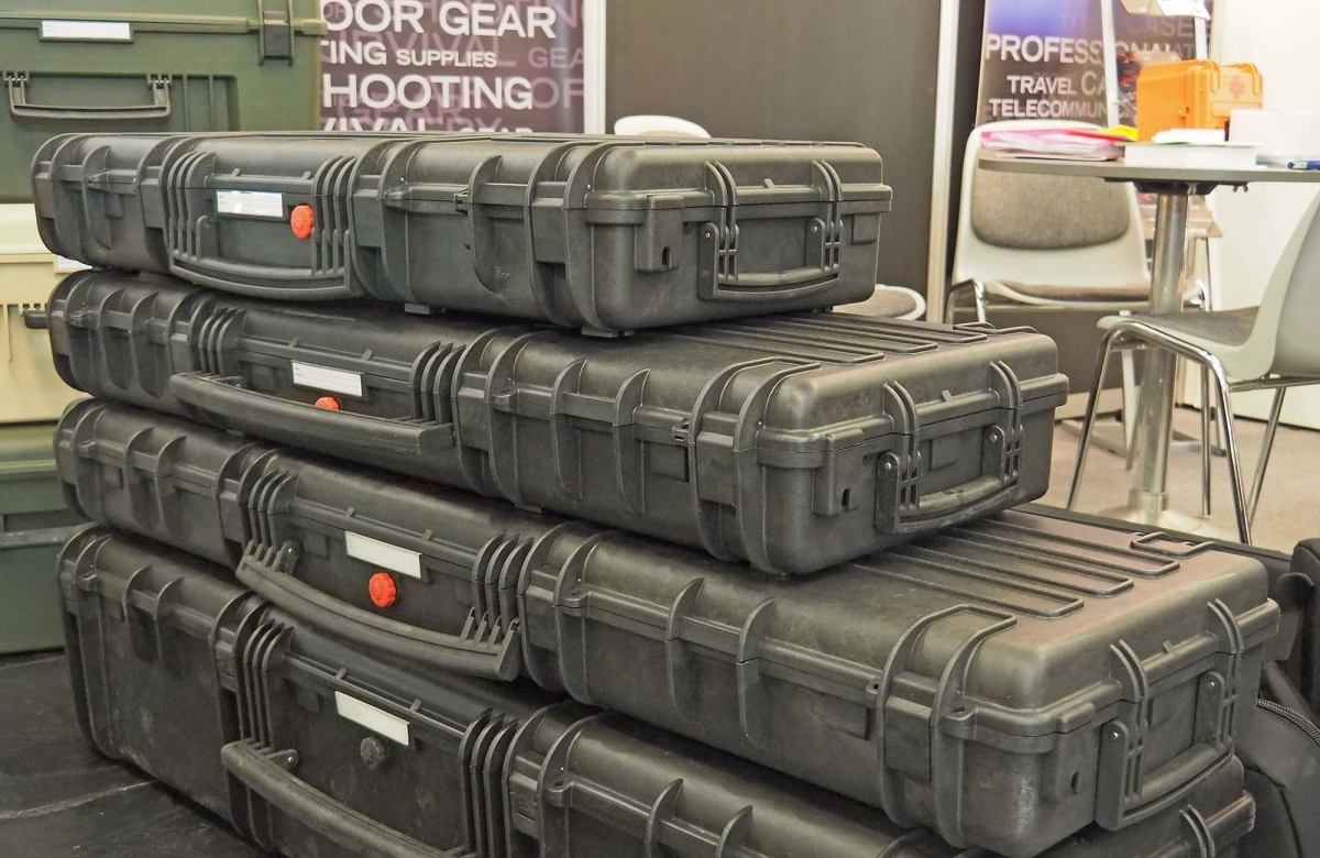 Explorer Cases RED gun cases