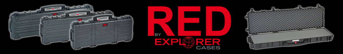 New Explorer Cases RED gun cases