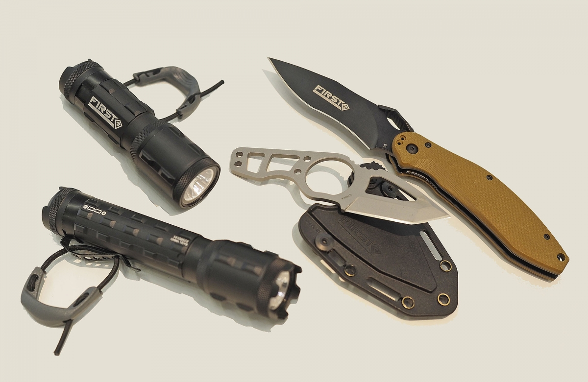 First Tactical showcased its new tactical accessories at the IWA expo in Nuremberg (Germany)