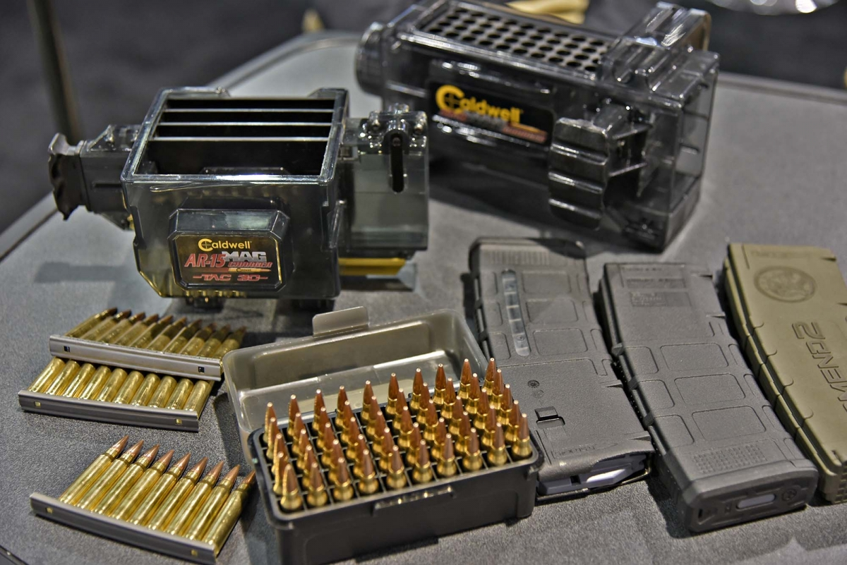 Caldwell Shooting Supplies expands its line of magazine chargers with the new TAC-30