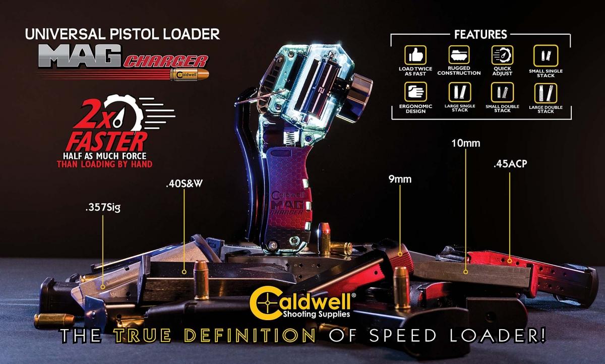 Caldwell Mag Charger Universal Pistol Loader: il carichino universale per pistole