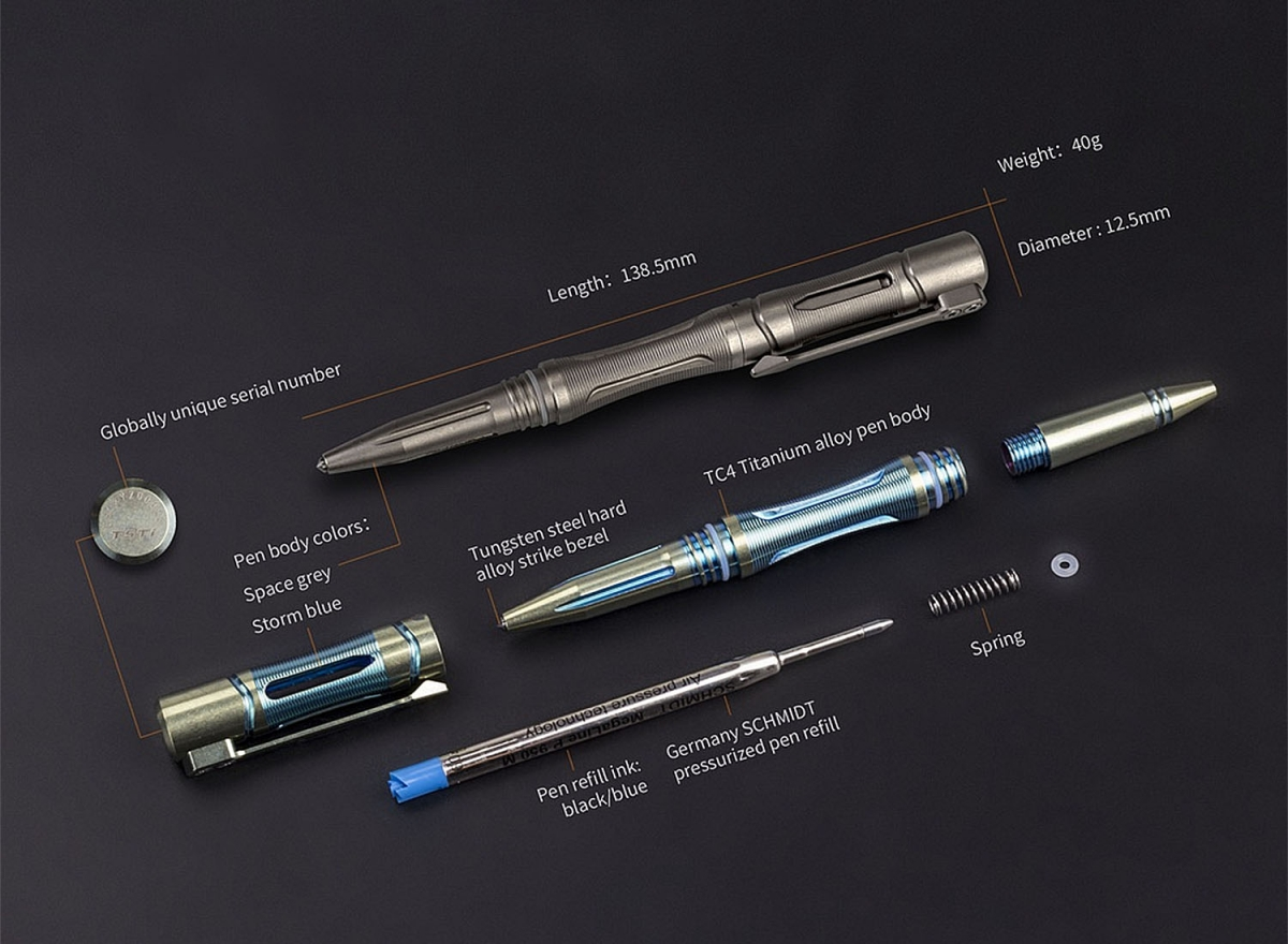 Fenix T5Ti Tactical Pen