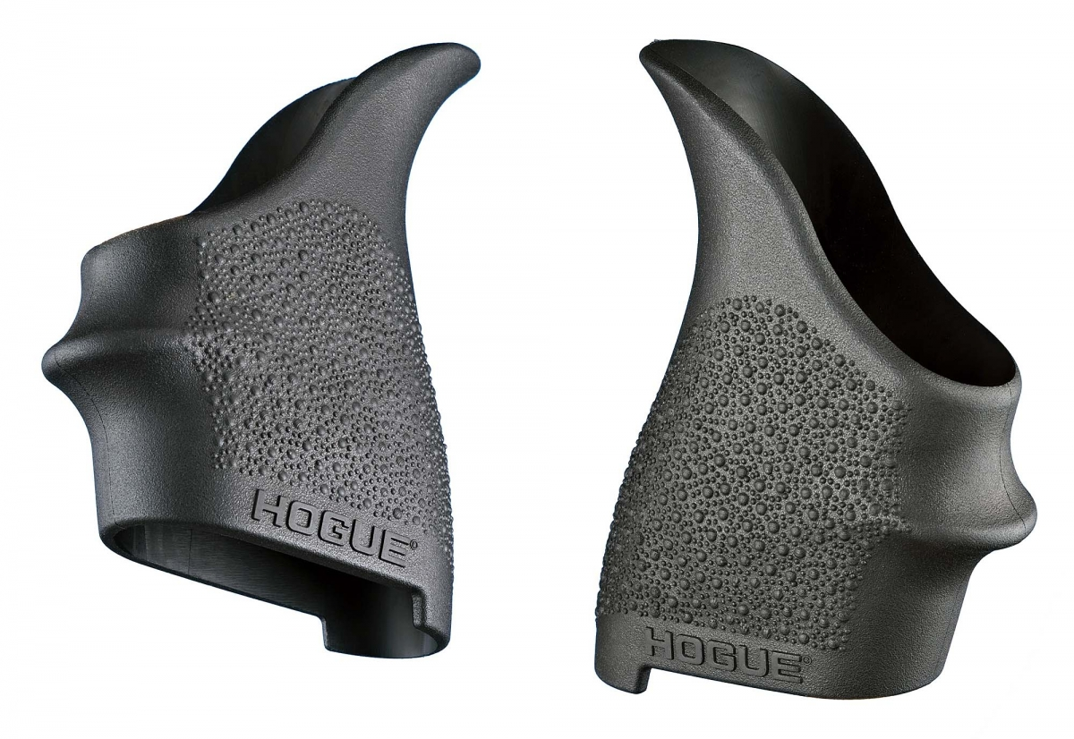 Many polymer pistols do not have easily replaceable grips – and the solution is new HandALL Beavertail grip sleeves