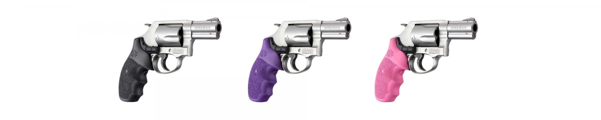 The new Hogue Laser Enhanced grips are currently available for S&W J frame revolvers