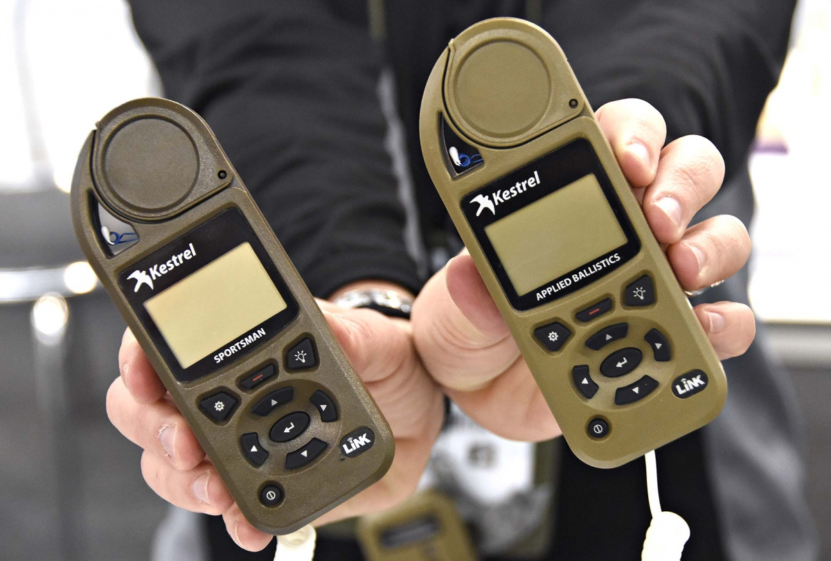 The new Sportsman and Elite weather meters with Applied Ballistics