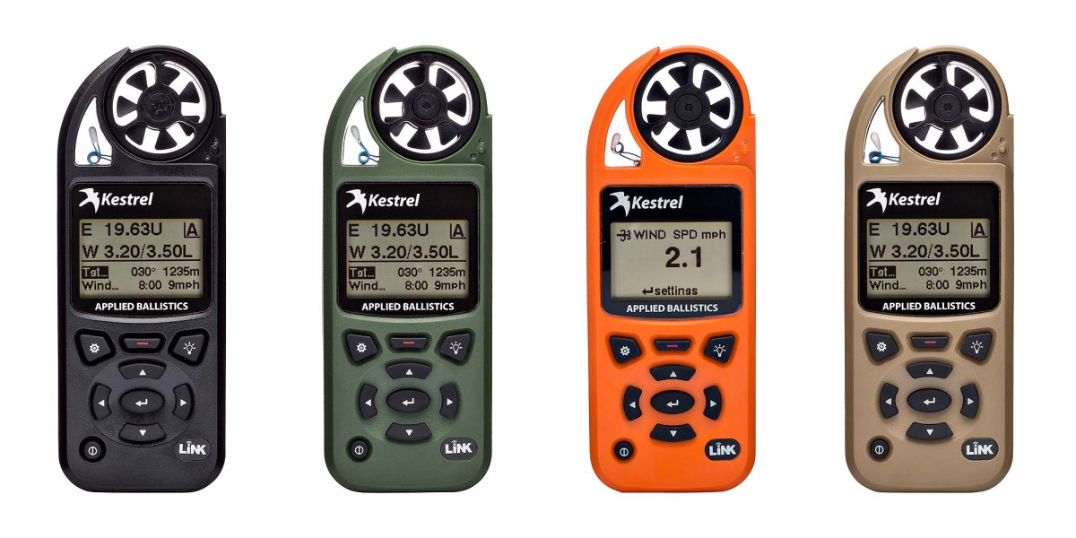 Kestrel has the right Weather Meter for several different purpose, also from the point of view of the color, depending on the use (or taste) you have in mind
